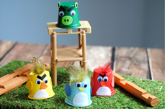 Craft Create Cook Angry Birds Craft For Kids Craft Create Cook