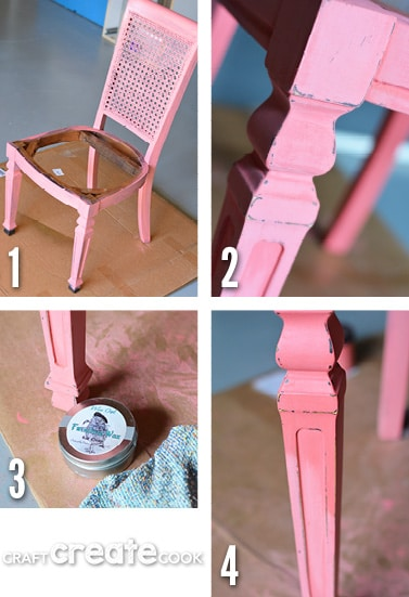 DIY Chalk paint Chair refinishing project