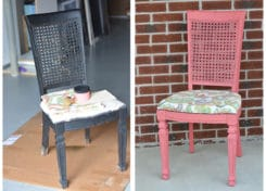Easy DIY Chalk Paint Chair Refinishing Project