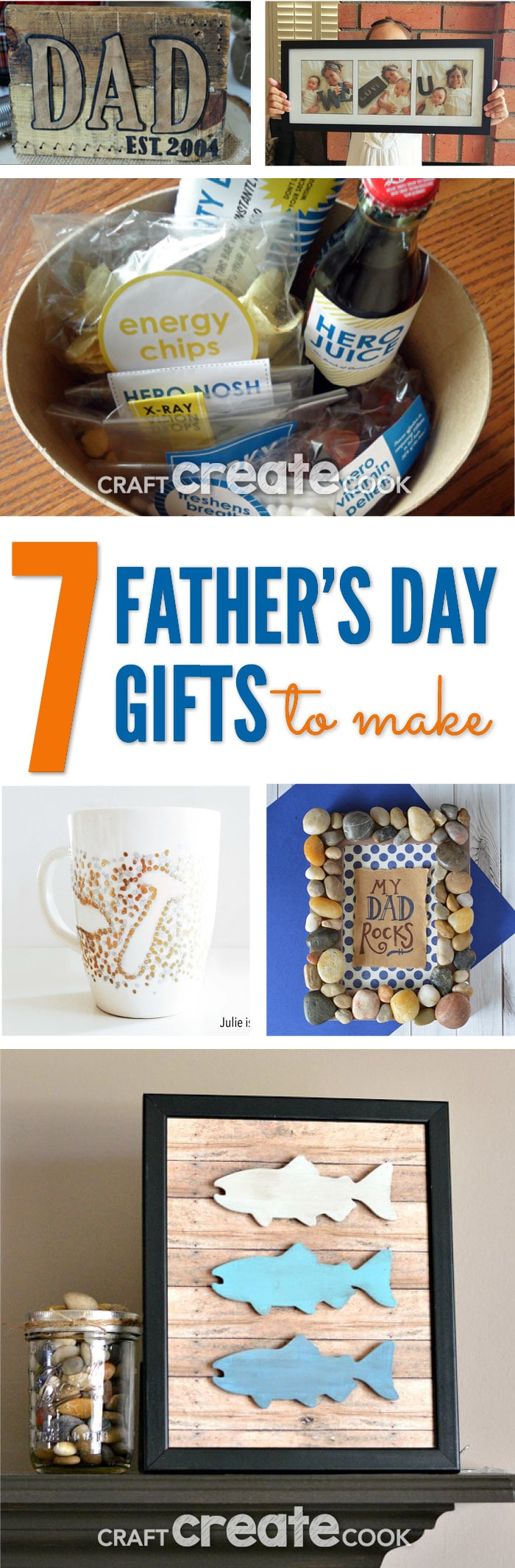 7 Amazing DIY Father's Day Gifts you'll want to make and display!