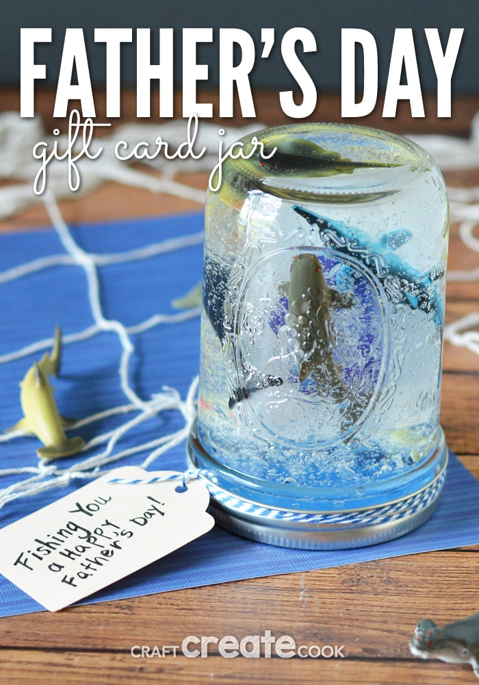 Finding a Father's Day Gift is one of  the hardest ideas to come up with! But we've got you covered with a fun, simple and easy gift the kids can help make!