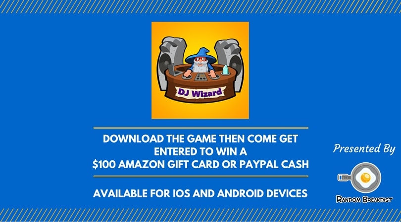 Paypal Mobile Card Reader >> Craft Create Cook - Enter to Win DJ Wizard $100 Amazon Gift Card or Paypal! - Craft Create Cook