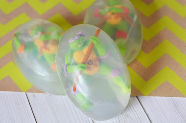 If you have a TMNT lover in your house, you'll want to make this easy soap!