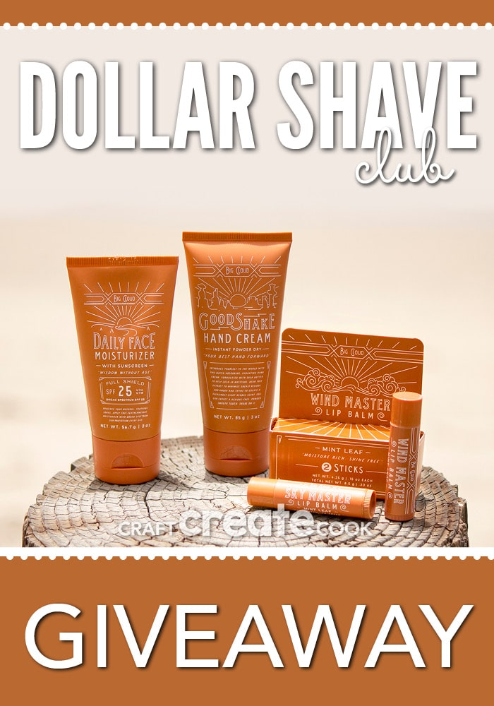 We've teamed up with another great company called Dollar Shave Club! A top rated company to give you a great shave for only a few bucks a month.