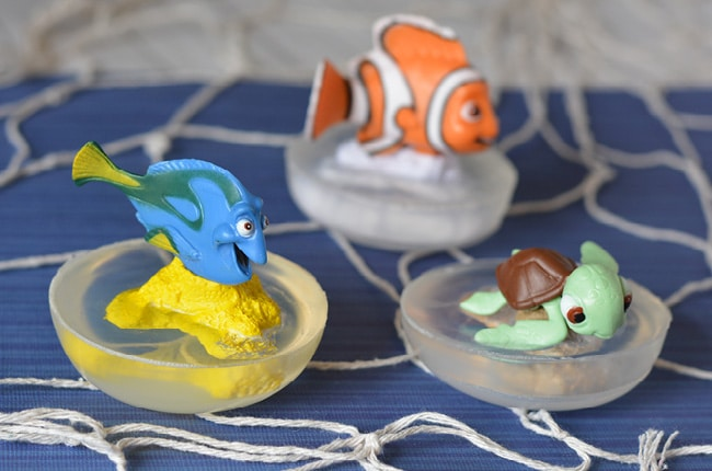 We've found Nemo, now let's work on Finding Dory and make this fun soap!