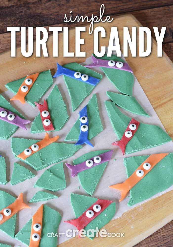 You need to make this TMNT Candy for the Turtle Fans in your life!