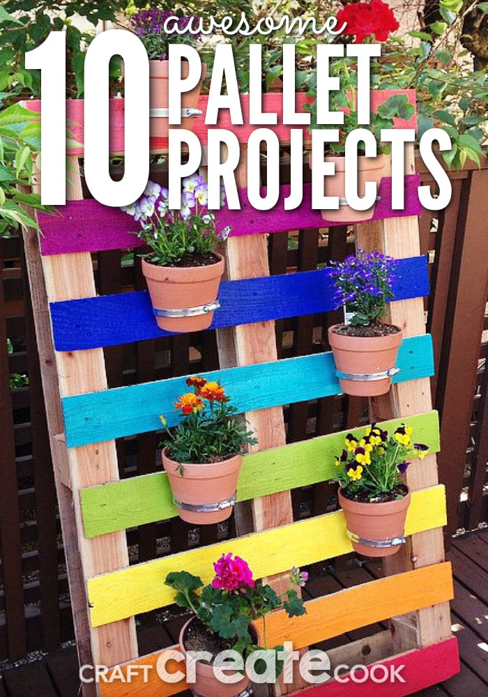 You will love these creative and fun DIY pallet project upcycle ideas!