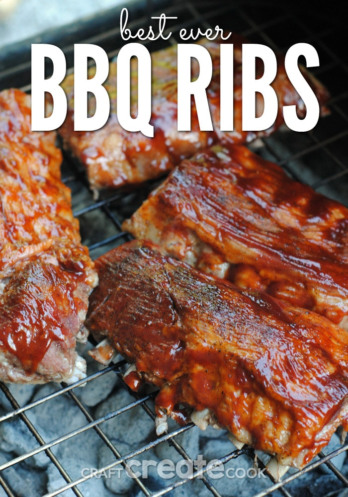 These delicious, homemade, BEST EVER, BBQ ribs will leave your mouth watering for more!