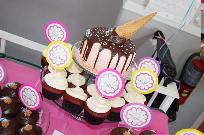 One of the easiest parties to throw is an ice cream party and your guests will love it!