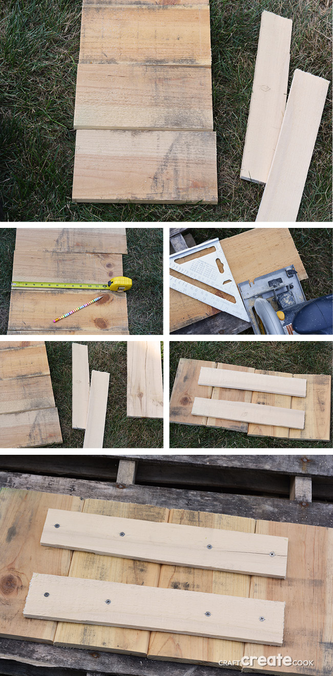 Pallet projects are very easy and this DIY wall art uses just a handful of materials and you'll be admiring your creation in no time!