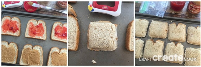 Don't waste your money on expensive Uncrustable Sandwiches when you can make your own at home for pennies and make large batches to freeze for school lunches.