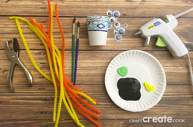If you have little ones and you'd like a silly craft instead of scary, then you will love our Silly Spider Craft.