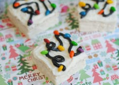 These Little Debbie Christmas Light Treats are perfect for a quick and easy holiday treat!