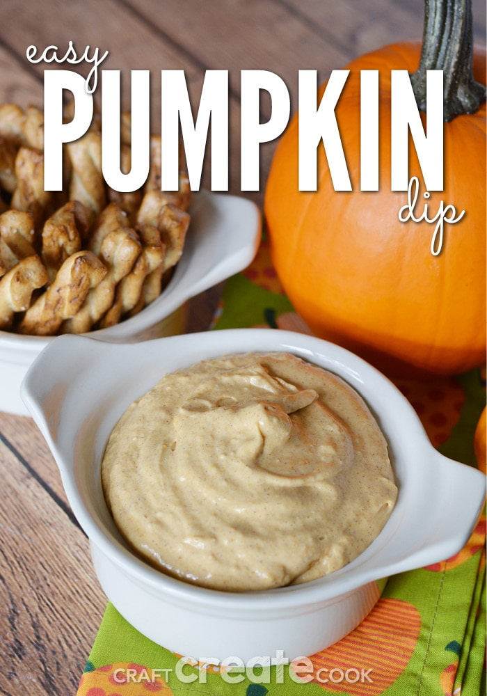 This easy pumpkin dip will be a big hit at your next Halloween party, Thanksgiving dinner or family night!