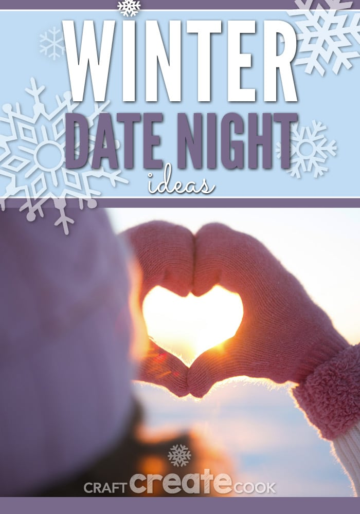 It's cold and snowflakes are falling, a perfect time to look over this great list of Winter Date Night Ideas and pick one that you'd like to do together.