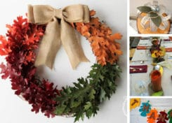 These DIY Thanksgiving home decor ideas will have your home ready for fall and Thanksgiving in no time!