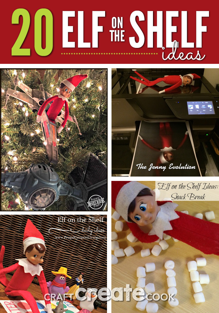 Here are some fun, creative and perfect Elf on the Shelf ideas for you this holiday season!