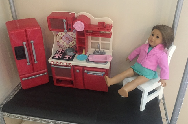 your kids and american girl dolls will love this easy diy american girl doll apartment - How To Make A American Girl Room