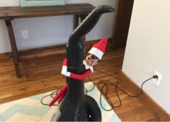 Keep your Elf on the Shelf busy this holiday season with housekeeping tasks!