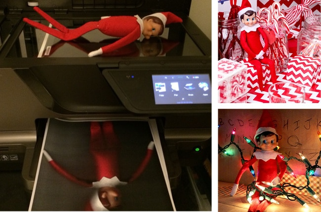 These Elf ideas are fun, creative and perfect for your Elf on the Shelf this holiday season!