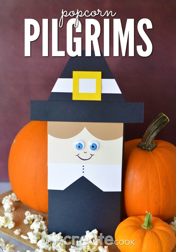We've got the cutest Thanksgiving table decor for your spread! These pilgrims are perfect for your guests to take home and enjoy!