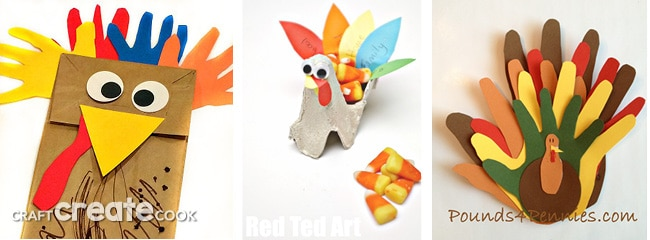 It's time to be thankful and keep the kids busy with these fun Thanksgiving kids crafts!