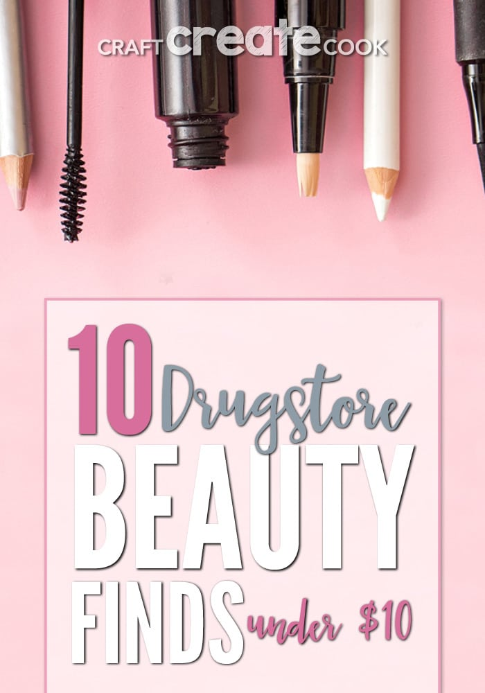 If you love make-up and beauty products, you will love saving money by trying some, or all, of our top 10 Drugstore Beauty Finds Under $10 suggestions.