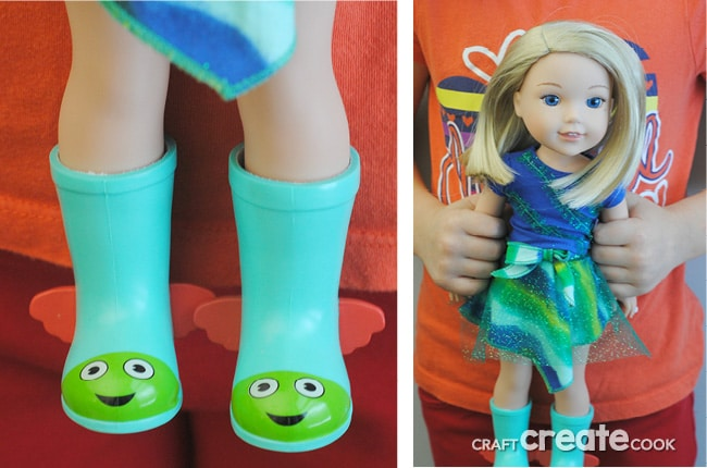You will fall in love with the Wellie Wishers, an adorable new line of smaller dolls from American Girl!