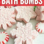 Create your own home spa by adding DIY Peppermint Bath Bombs and enjoying a relaxing evening in, reading a book, or listening to a little music.