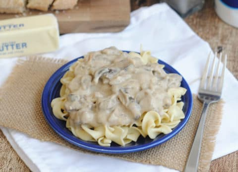 This easy home cooked comfort meal is perfect for holiday potlucks!
