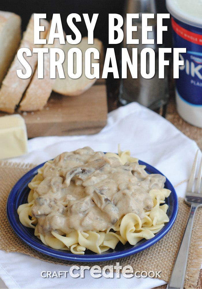 This easy home cooked comfort meal is perfect for cold winter nights!