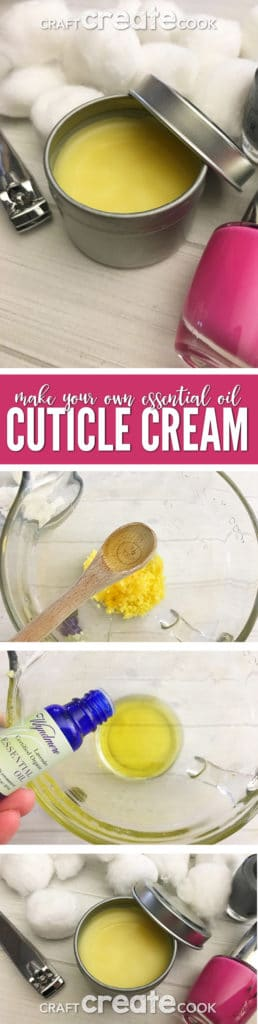 If you're looking for a way to soften your cuticles, you'll want to try our DIY Essential Oil Lavender Cuticle Cream.