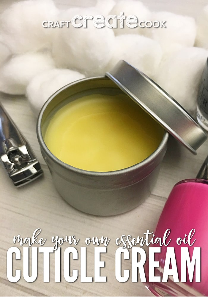 If you're looking for a way to soften your cuticles, you'll want to try our DIY Lavender Cuticle Cream.