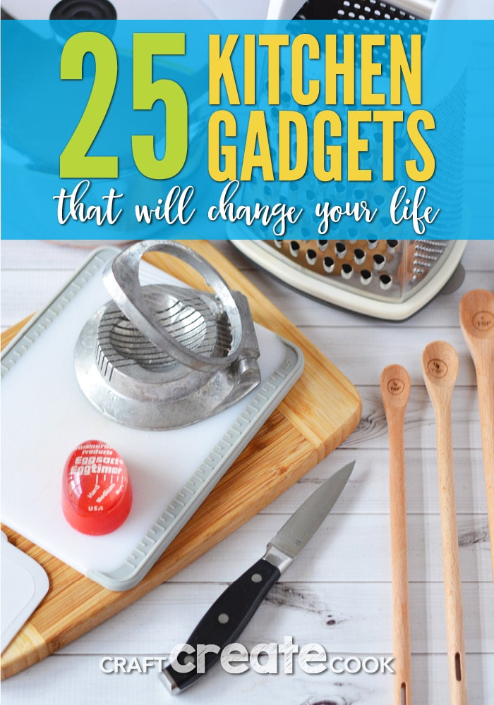 25 kitchen gadgets that will change your life.