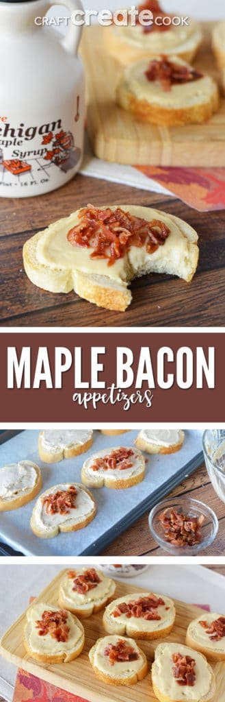 Our Maple Bacon Appetizers will be perfect for your holiday party or game day celebration.