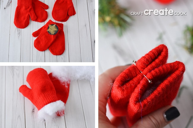 This no sew, Christmas Mitten Garland will take you less than 30 minutes to make and last for years to come!