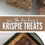 There's no better combination than peanut butter and chocolate, which is why you'll want to try these Peanut Butter Rice Krispie Treats!