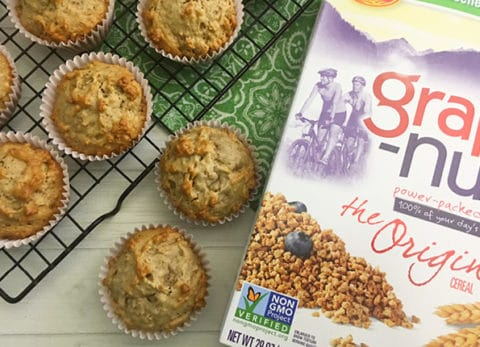 Start your day off right with a nutritious breakfast by making a batch of our Hearty Banana Breakfast Muffins.