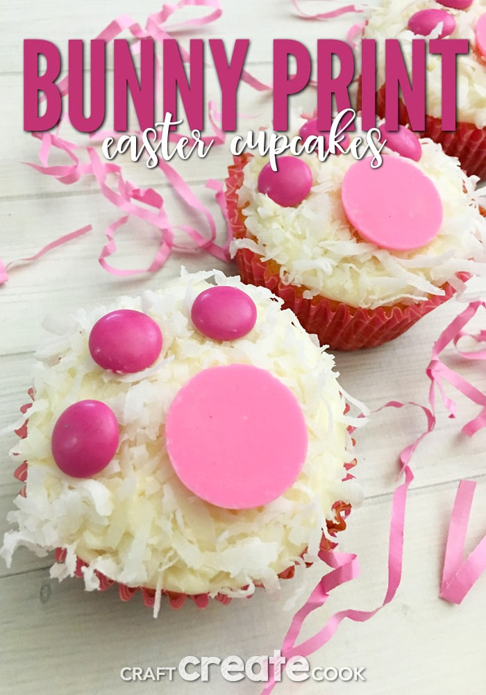 craft create cook bunny print easter cupcakes craft create cook