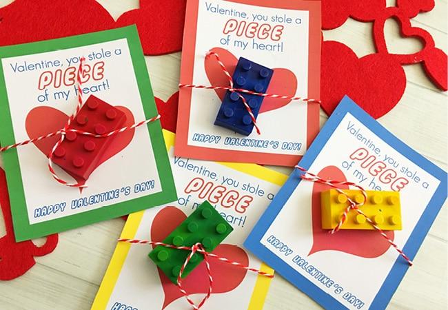 DIY Lego Crayons U2013 Free Printable Lego Valentine Cards
