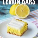 Cream Cheese Lemon Bars from CraftCreateCook