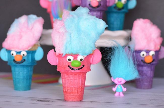 Craft Create Cook - Troll Cupcakes - Craft Create Cook