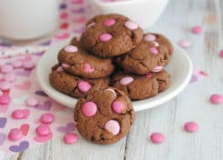 Chocolate Valentine Cookies are the perfect chocolate Valentine treat!