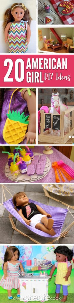 Your American Girl Doll will love these fun and easy DIY ideas!