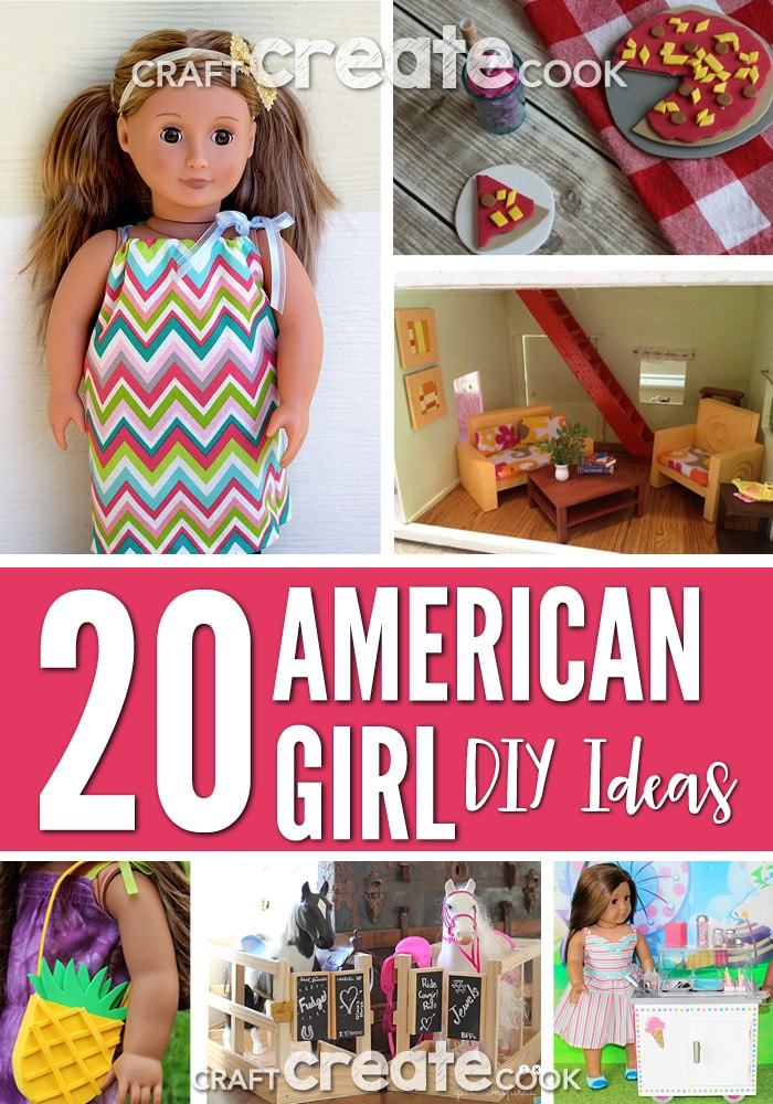 craft create cook your american girl doll will love these fun and