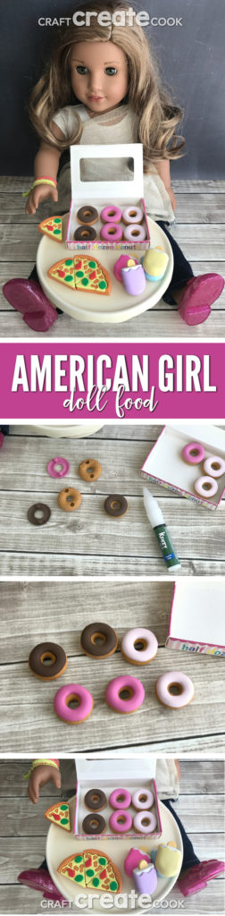 Your American Girl Dolls will love this cute, fun and easy DIY food!