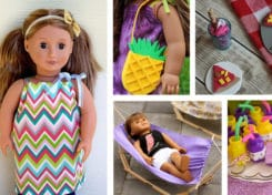 Here's 20 American Girl DIY Ideas that you'll be sure to love.