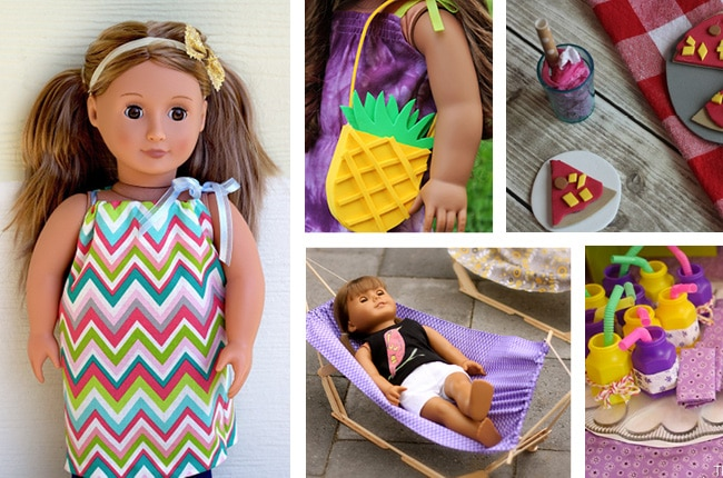 20 American Girl Diy Ideas Craft Create Cook
