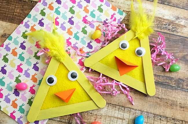 Craft Create Cook Easy Easter Popsicle Stick Craft Craft Create Cook