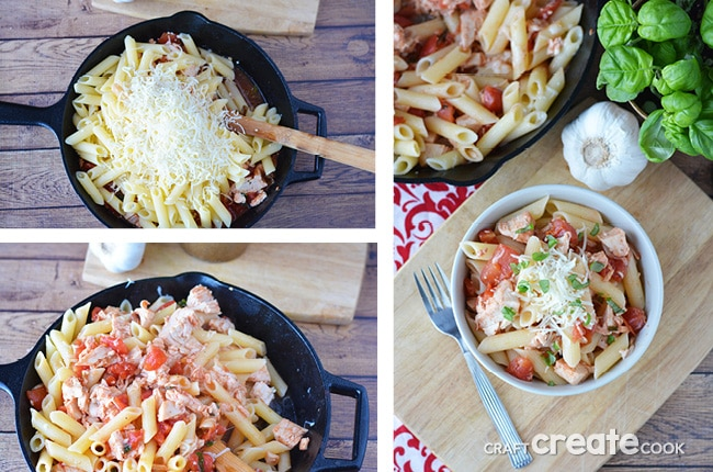 If you're looking for a tasty gluten free chicken skillet this is the best recipe!